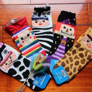 韓國卡通襪子