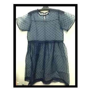 Sheer Linen Dress