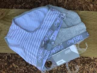 Mossimo undies x 2 / size 8 new with tag