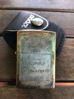 Zippo 1932 limited with serial number year made of 1993