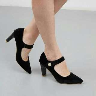 Naco Octo Heels BLACK