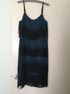Monsoon Fringe Dress