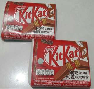 Dijual Nestle KitKat Wafers 4F 35g rasa Milk Chocolate
