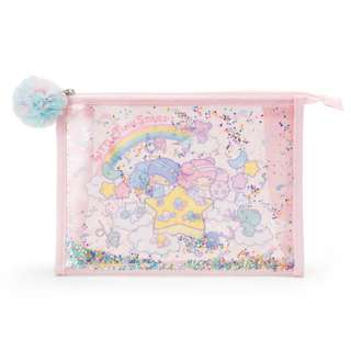 [PO] Japan Sanrio Little Twin Stars Vinyl Pouch Cheer of the Starry Sky