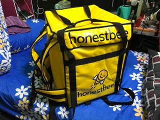 Honest Bee food delivery bag
