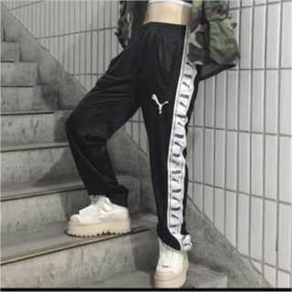 Puma 串標長褲 運動褲 長褲 復古 vintage