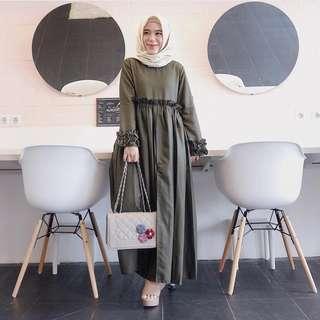 VGC - 0318 - Dress Gamis Busana Muslim Faulina