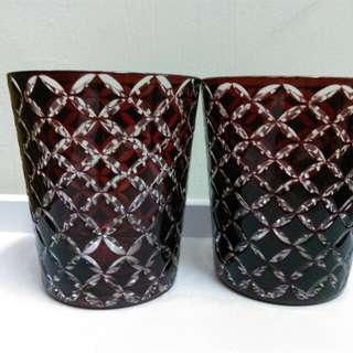 新品二手 玻璃杯 附盒子
