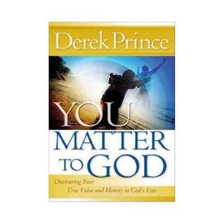 [eBook] You Matter To God - Derek Prince