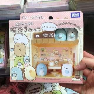 Japan Tokyo Sumikko Gurashi 角落生物 恐龍 白熊 嘆茶 場景