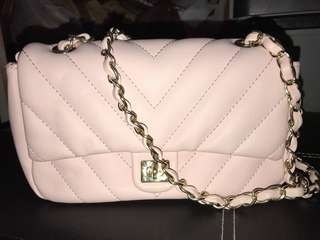 Leather Bag Pink