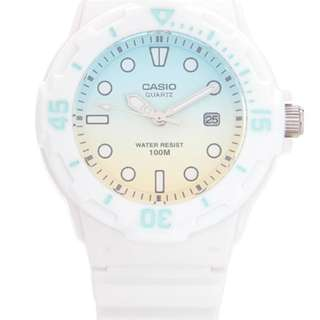 Casio Analogue watch White Authentic Brand New