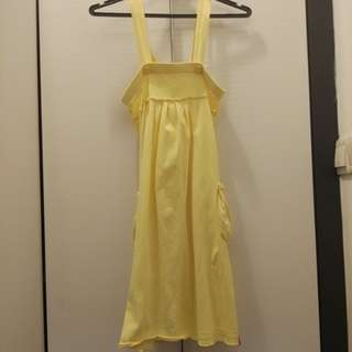 Yellow ESPRIT Dress