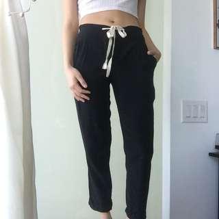 Aritzia Wilfred ALLANT Silk Pant