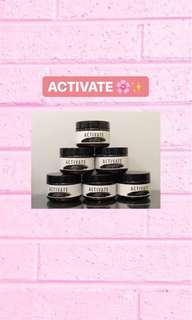 Activate Bentonite Clay and Charcoal Mask