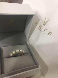 Arte Ring 歡迎換款 ARTE 換 1換1 正版 arte Madrid 珍珠戒指