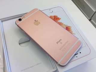 Iphone6s plus 128Gb 玫瑰金