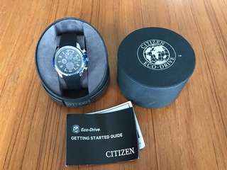 Citizen Eco-Drive Mens watch - chrono, 100m
