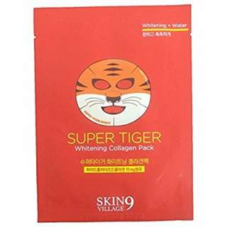 Skin9 Super Tiger Whitening Collagen Mask