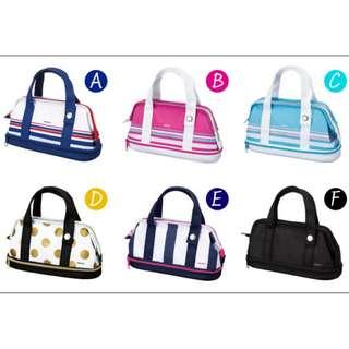 【全新現貨不用等】日本KOKUYO Capatto多功能筆袋、化妝包/日本帶回,文具控、化妝包控最愛。
