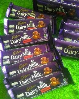 Cadbury dairy milk 68gr