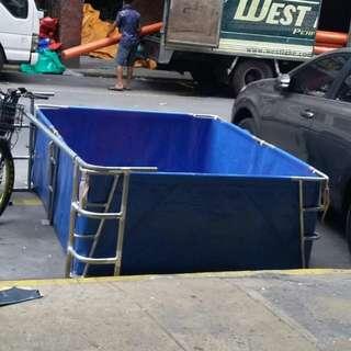 Portable heavy duty pool