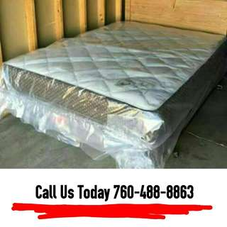 Queen Mattress + Boxspring (Limited Time Only!)