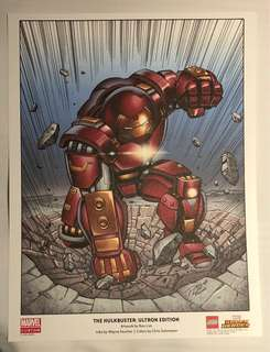Limited-edition Marvel Art Print: Hulkbuster: Ultron Edition (colour)