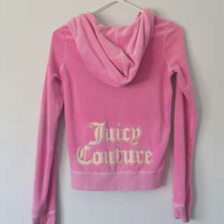 Small Pink Juicy Couture Sweater