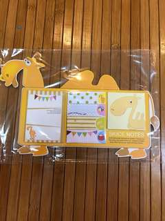 Camel post-it SKICE notes