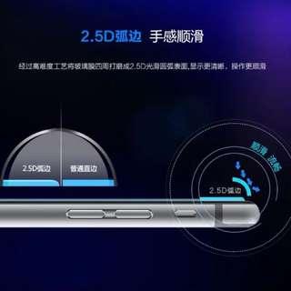 Apple I phone 8 8plus X 2.5D鋼化玻璃保護貼膜一張50$ 質感很好