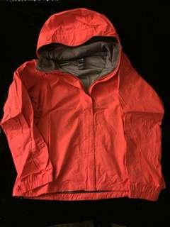 Orange The North Face Jacket