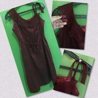 Preloved Maroon Dress