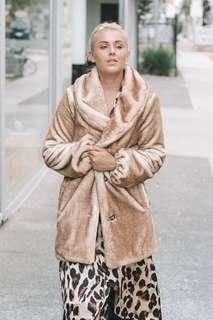Majorelle Brinkley Faux Fur Coat