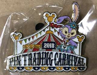 香港 迪士尼 徽章 Disney Pin PIN TRADING CARNIVAL 2018 Exclusive pin