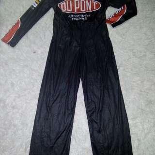 Car racing costume 8-10 yrs old