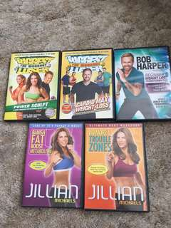 Workout DVD's