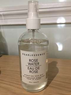 Pearlessence rose water spray