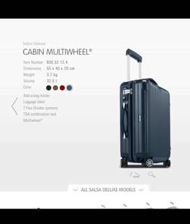 MUST ORDeR NOW! 🇩🇪 Rimowa Salsa Deluxe • 32L