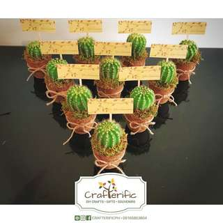 Cactus & Succulents Souvenirs/ Giveaways