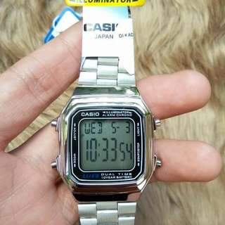 ON SALE: Casio Vintage Silver