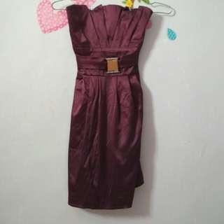 Dress ungu