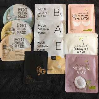 Too Cool For School Korean Sheet Masks