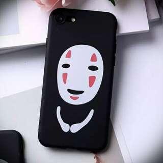 無臉男 iPhone Case