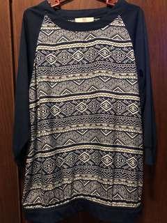 Bayo top with aztec print