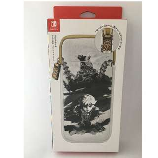 Zelda: Breath of the Wild - (Japan Exclusive) Nintendo Switch Carrying Pouch