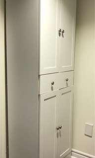 Closet cabinet wood 30$ OBO