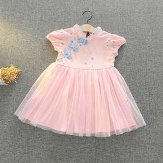 旗袍風公主紗裙