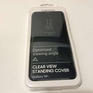 Samsung GalaxyS9+原裝有蓋電話套clear view standing cover