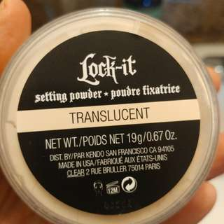 Kat Von D Lock It Setting Powder- translucent